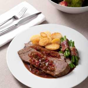 new BBQ Rinderbraten 1.000 g ab 26.99 (26.99) Euro im Angebot