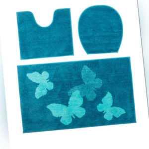 new Badematten-Set ''Schmetterling''