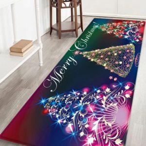Christmas Tree Pattern Flannel Floor Mat ab 22.36 (26.83) Euro im Angebot