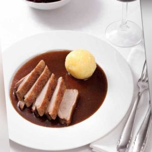 new Fertiggericht Entenbrust mit Soße ab 27.99 (33.99) Euro im Angebot