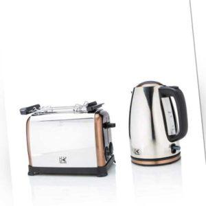 new Toaster und Wasserkocher Copper ab 89.99 (89.99) Euro im Angebot