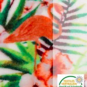 new Cashma Plüsch Wohndecke ''Flamingo'' ab 16.99 (22.99) Euro im Angebot
