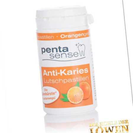 new Anti-Karies-Pastillen Orange