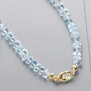 new Aquamarin-Collier ab 899.00 (899.00) Euro im Angebot