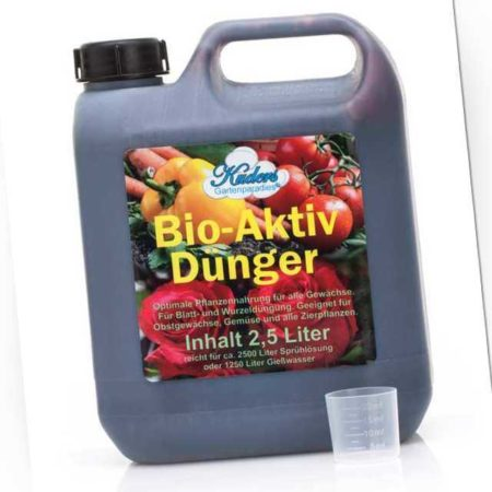 new Bio-Aktiv-Dünger