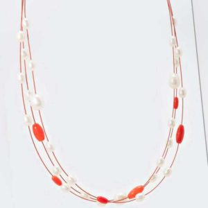 new Collier SWZ-Perlen 5