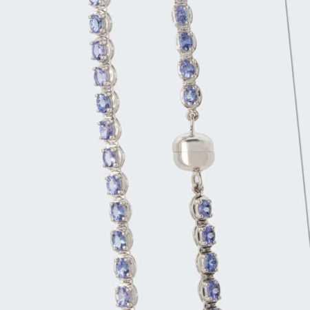 new Collier aus Tansanit ab 399.00 (399.00) Euro im Angebot