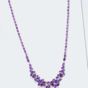 new Collier mit Amethyst