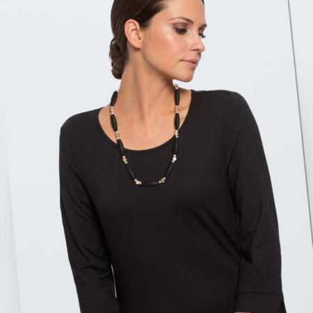 new Collier mit Onyx