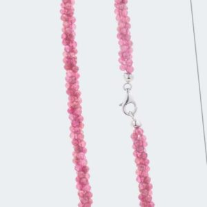 neu Collier mit Pink Turmalin