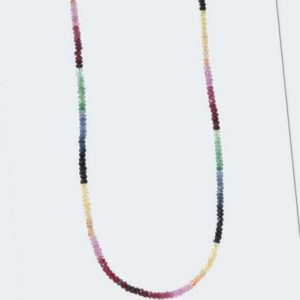 new Collier mit Rubin