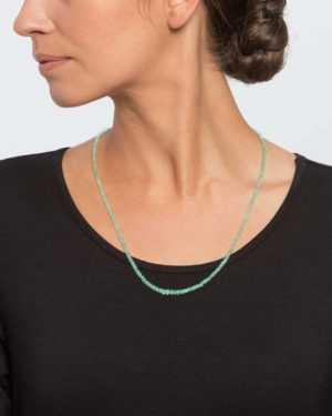 new Collier mit Smaragd ab 299.00 (399.00) Euro im Angebot