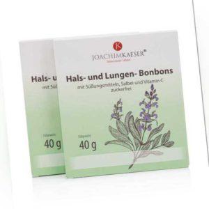 new Hals- und Lungen-Bonbons