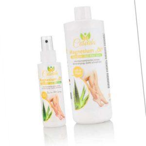 new Magnesiumöl Aloe Vera 500 ml + Flasche ab 39.98 (39.98) Euro im Angebot