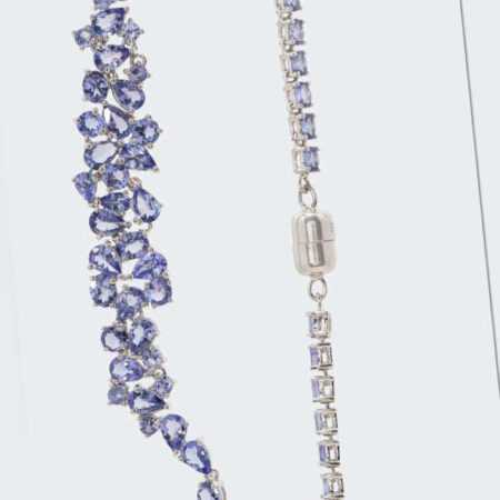 new Tansanit-Collier ab 499.00 (499.00) Euro im Angebot