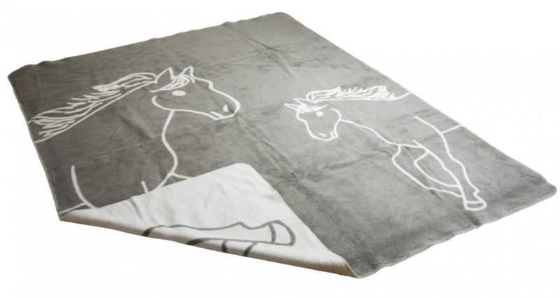 150x200 cm Tagesdecke Plaid Überwurf mit Tiermotiven