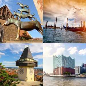4T Kurzurlaub in eine Stadt der Wahl: 20 Städte - 5 Länder, Hotelgutschein a
