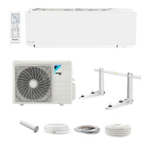 Daikin Sensira+ FTXC35B R32 3,37kW Klimaanlage Inverter Klimagerät + Montageset; EEK A