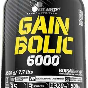 Olimp Gain Bolic 6000 3,5kg Dose Super Mass Weight Gainer Aminosäuren Aspargin