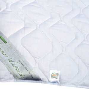 Sommerdecke Wild-Seide Baumwolle Bettdecke Sommer Decke waschbar 90° Gabrina