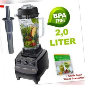 Profi Standmixer JTC Omniblend TM767 Mixer Blender Smoothie Maker 2 L BPA-frei
