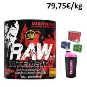All Stars Raw Intensity 3.17 - 400g + GRATIS Bonus* / Pre Workout Booster