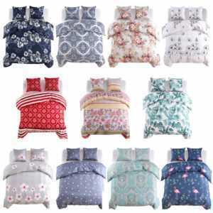 vidaXL Bettwäsche Set Bettgarnitur Bettbezug Kissenbezug mehrere Auswahl