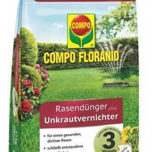 COMPO FLORANID® Rasendünger plus Unkrautvernichter 12 kg für 400 m²