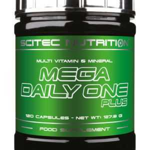 Scitec Mega Daily One Plus - 120 Kapseln - Vitamine & Mineralien Caps