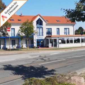 Kurzurlaub Ostsee Rerik nahe Kühlungsborn 4 Tage Hotel Kurzreise für 2 Personen