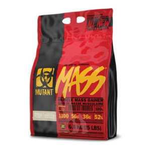 PVL Mutant Mass 6,8kg Muskelaufbau Weight Gainer Bonus Gratis Mutant Shaker