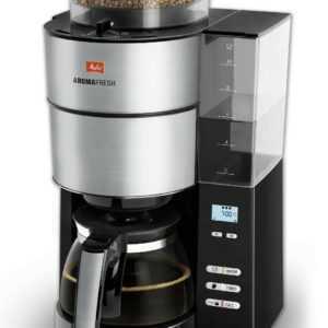 MELITTA 1021-01 AromaFresh, Kaffeemaschine, Schwarz/Edelstahl NEU