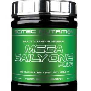 Scitec Nutrition Mega Daily One Plus 120 Kapseln Vitamine Mineralien