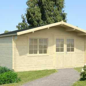 40 mm Gartenhaus Gerätehaus Blockhaus Schuppen Holzhaus Holz Neu Garten Haus