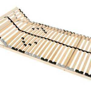 7-Zonen Lattenrost ERGO 90x200 100x200 Kopfteil Härtegrad verstellbar