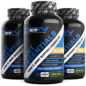 3x Joint Essentials = 450 Gelenk Tabletten - Glucosamin Chondroitin MSM Kollagen