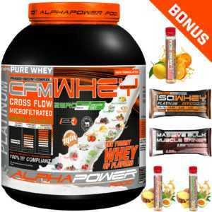 CFM 100% Whey Protein Isolate Shake ab18,49€/kg Eiweiß Pulver BCAA