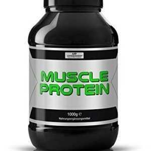 Muscle Booster Protein für schnellen Muskelaufbau anabol Eiweiß Aminosäuren BCAA