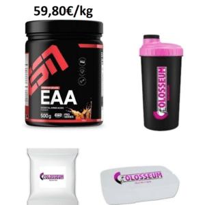 ESN EAA 500g essentielle Aminosäuren Muskelaufbau GRATIS Bonus wählbar