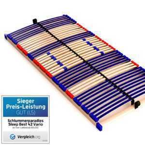 Qualitäts-Lattenrost 7 Zonen Maße 90x200cm 140x200cm 90x190cm 80x200cm günstig