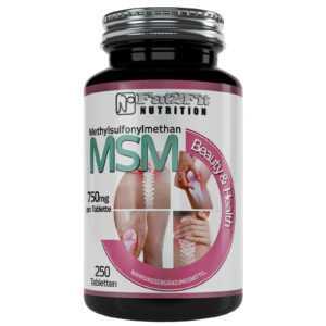 MSM 250 Tabletten je 750mg Methylsulfonymethan Haut Haare