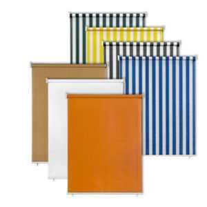 JAROLIFT Senkrechtmarkise Sichtschutz Außenrollo Sonnenschutz Außen Rollo Balkon