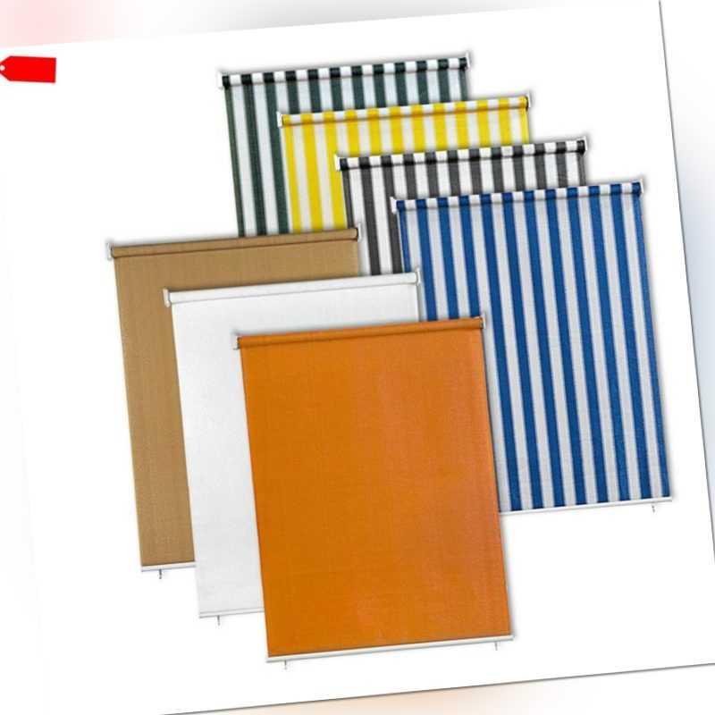 Top JAROLIFT Senkrechtmarkise Sichtschutz Außenrollo Sonnenschutz AR69