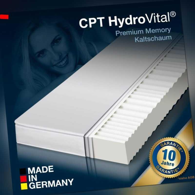 7 Zonen CPT HydroVital® 16 Wellness Komfort Marken Matratze 140x200 H2 ÖköTex
