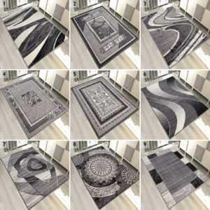 TOP Designer Teppich Modern Teppiche Grau   200x300 300x400 160x230 und mehr