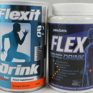 Nutrend Flexit DRINK & Megabol Flexit 400g + 400g Gelenke Support