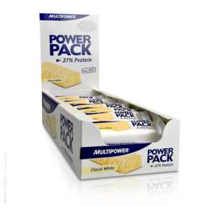 23,21/kg Multipower POWER PACK PROTEIN BAR, 24 Eiweissriegel a 35g