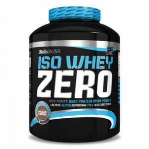 (EUR 20,04/kg) BioTech USA - Iso Whey Zero, 2270g, Protein, Eiweiß, Isolat, BCAA