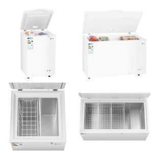 A+ Gefriertruhe Kühltruhe Tiefkühltruhe 98L-368L  -28°C mit Sicherheitsschloss; EEK A++