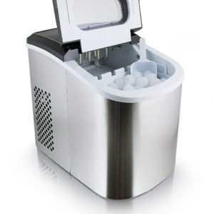Eismaschine Eiswürfelmaschine Icemaker Ice Cube Eiswürfelbereiter Edelstahl